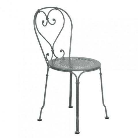 chaise 1900 fermob gris orage