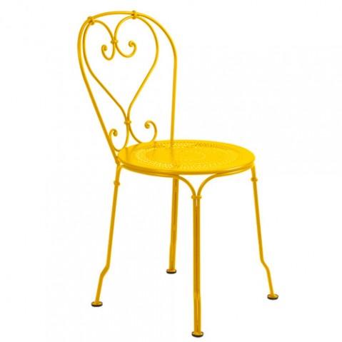 chaise 1900 fermob miel
