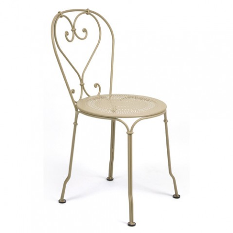 chaise 1900 fermob muscade