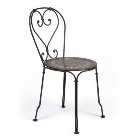 chaise 1900 fermob rouille
