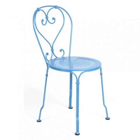 chaise 1900 fermob turquoise