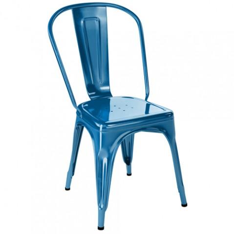 chaise a laque tolix bleu ocean