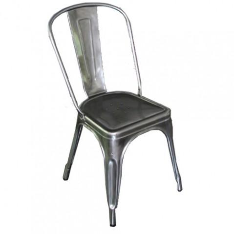 chaise a verni brut verni brillant de tolix. Black Bedroom Furniture Sets. Home Design Ideas