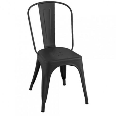 chaise a mat tolix noir