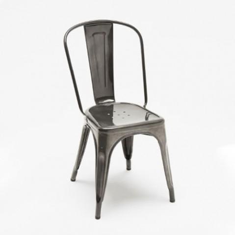chaise a tolix verni acier janvier
