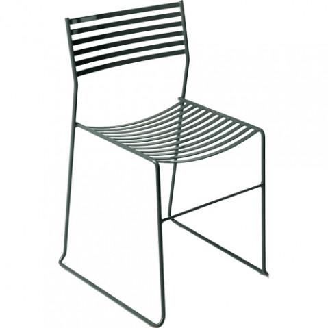 chaise aero emu fer ancien