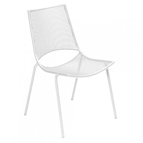 chaise ala emu blanc