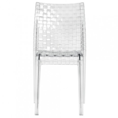 chaise ami ami kartell cristal