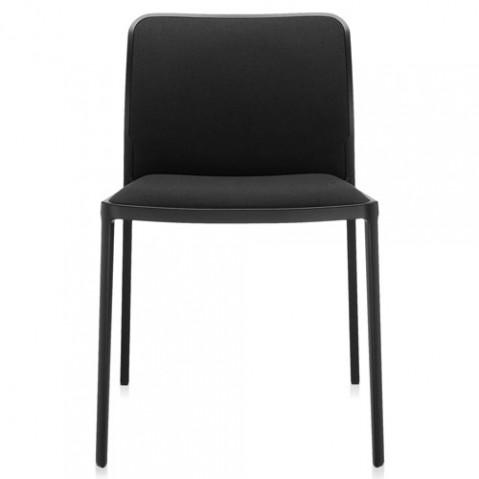 chaise audrey soft kartell noir noir