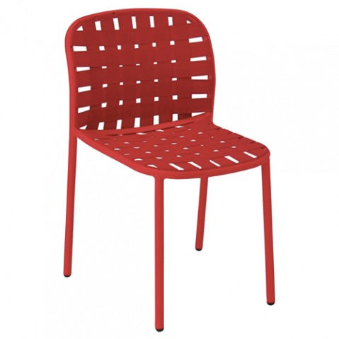 chaise yard emu rouge