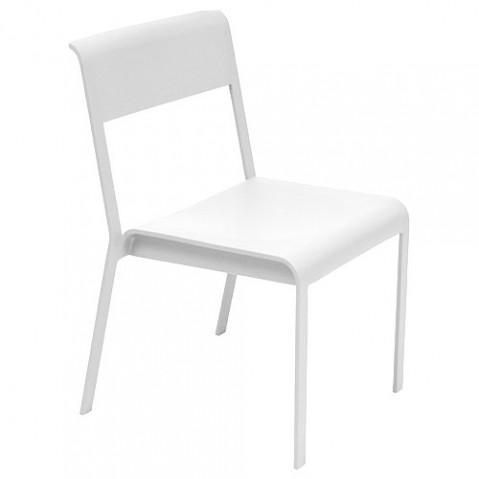 chaise bellevie fermob blanc