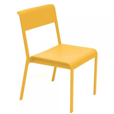 chaise bellevie fermob miel
