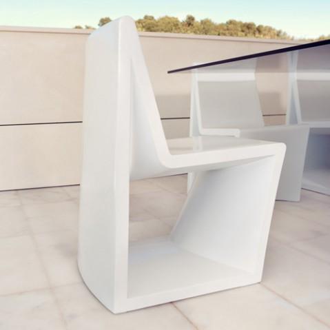chaise rest vondom blanc