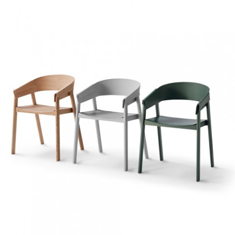 chaise cover muuto chene naturel