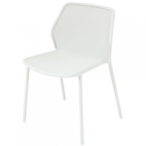 chaise darwin emu blanc