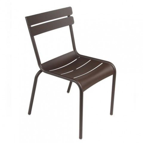 chaise enfant luxembourg kid fermob rouille