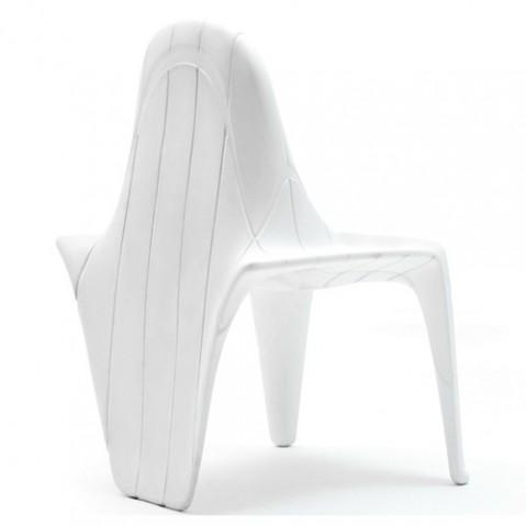 chaise f3 vondom blanc laque