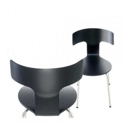 chaise fedra la palma noir