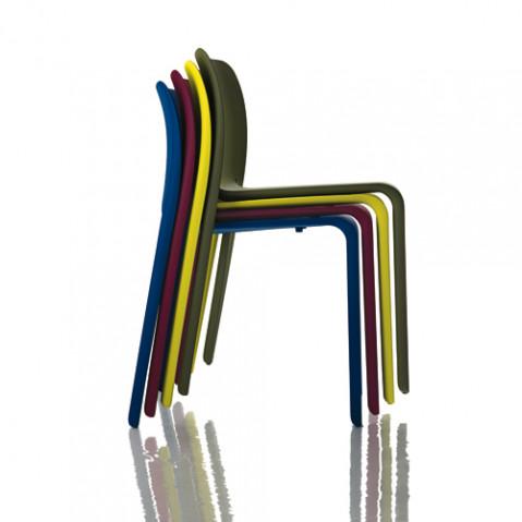 First Chair Chaise Design Magis Noir