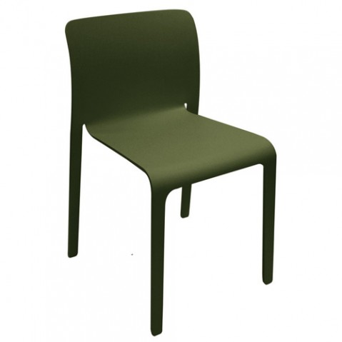 First chair chaise Design Magis Vert Olive