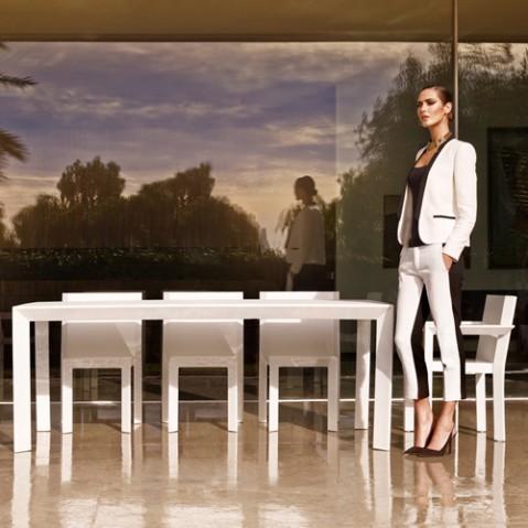 chaise frame vondom blanc