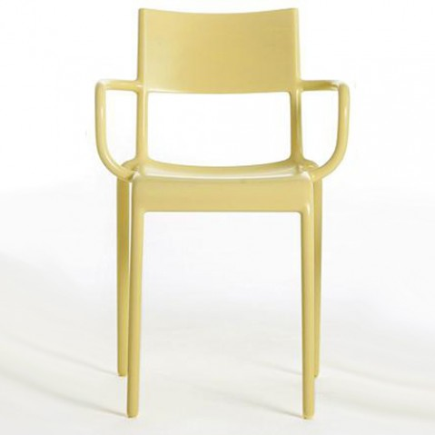chaise generic a kartell jaune
