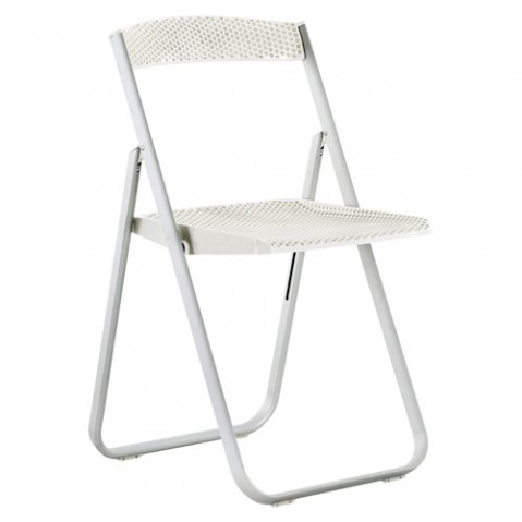 chaise honeycomb kartell blanc