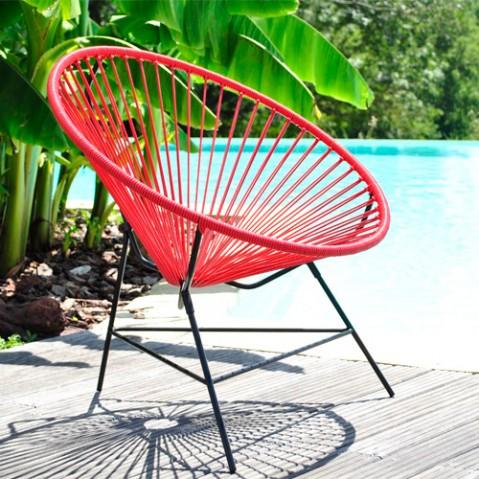 fauteuil huatulco boqa vert turquoise