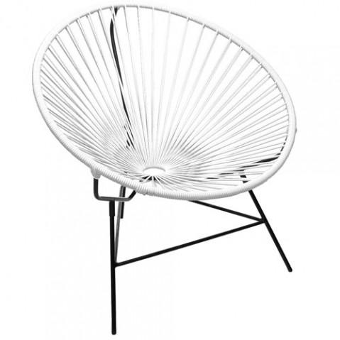 fauteuil huatulco boqa blanc