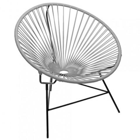 fauteuil huatulco boqa gris