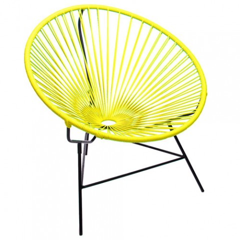 fauteuil huatulco boqa jaune