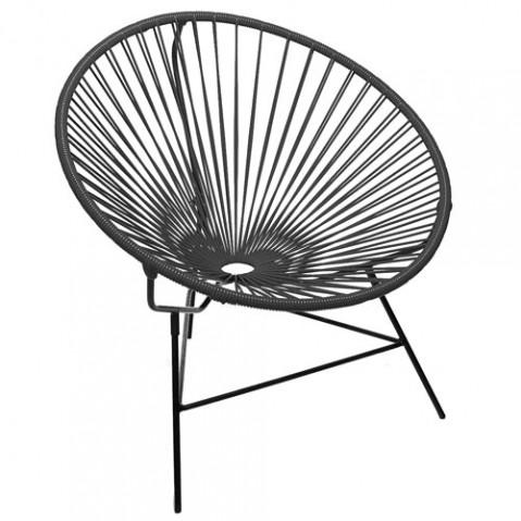 fauteuil huatulco boqa noir