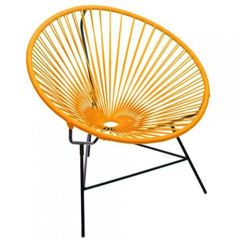 fauteuil huatulco boqa orange