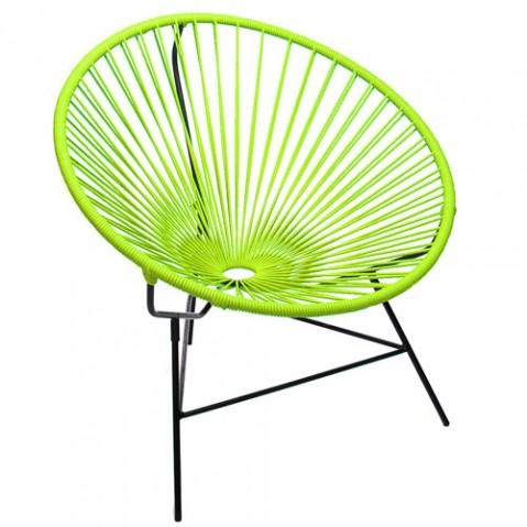 fauteuil huatulco boqa vert anis