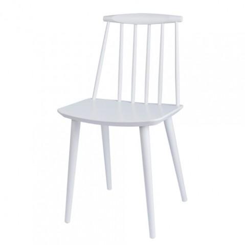 chaise j77 hay blanc