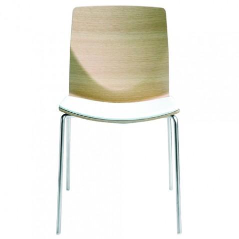 chaise kai la palma chene blanchi