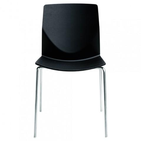 chaise kai la palma chene noir