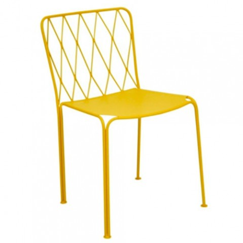 chaise kintbury fermob miel