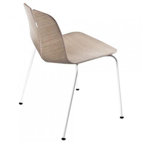 chaise link la palma chene blanchi