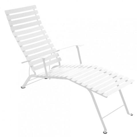 chaise longue bistro fermob coton