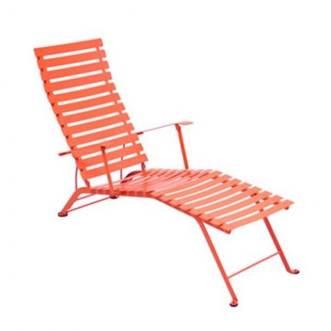 chaise longue bistro fermob capucine