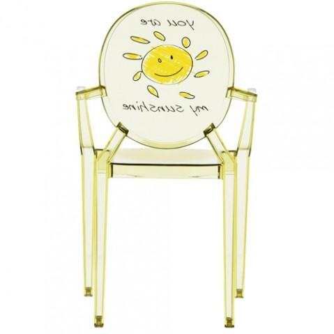 fauteuil lou lou kartell kids soleil