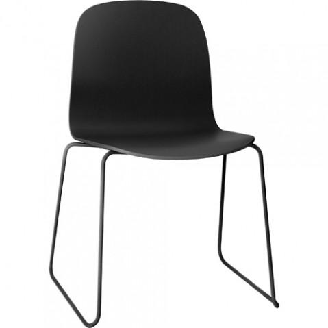 chaise luge visu muuto noir