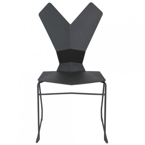 chaise y tom dixon pietement luge noir
