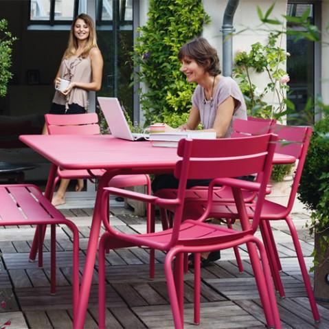 chaise luxembourg fermob reglisse