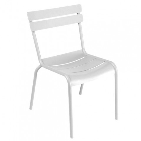 chaise luxembourg fermob blanc