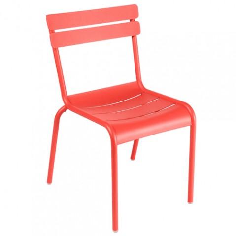 chaise luxembourg fermob capucine