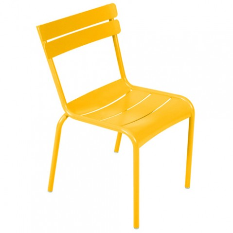 chaise luxembourg kid fermob miel