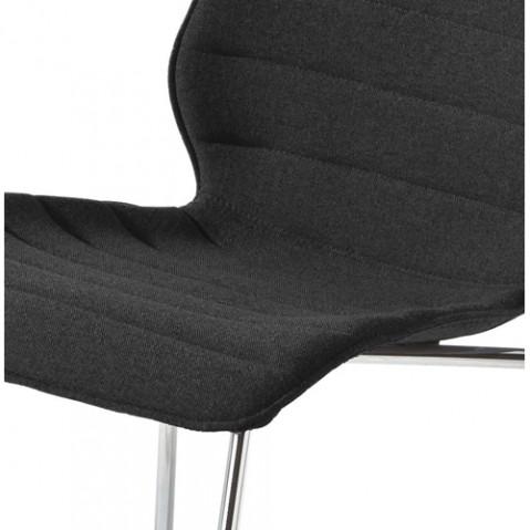 chaise maui soft kartell trevira noir