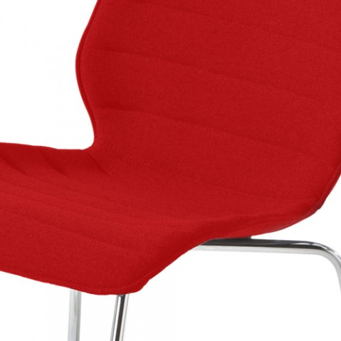 chaise maui soft kartell trevira rouge